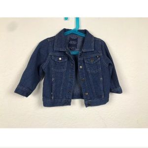 Lucky Brand Jeans Jacket Blue Sz 18 Months